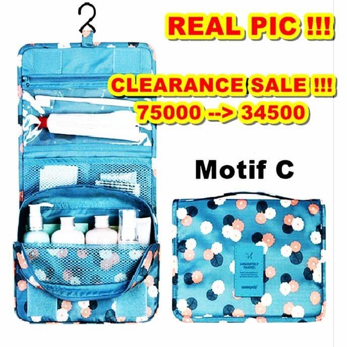 Jual Korea Travel Hanging Tas Penyimpanan Kosmetik Organizer Pouch Hpr065 Kota Medan Fajar Mentari77 Tokopedia