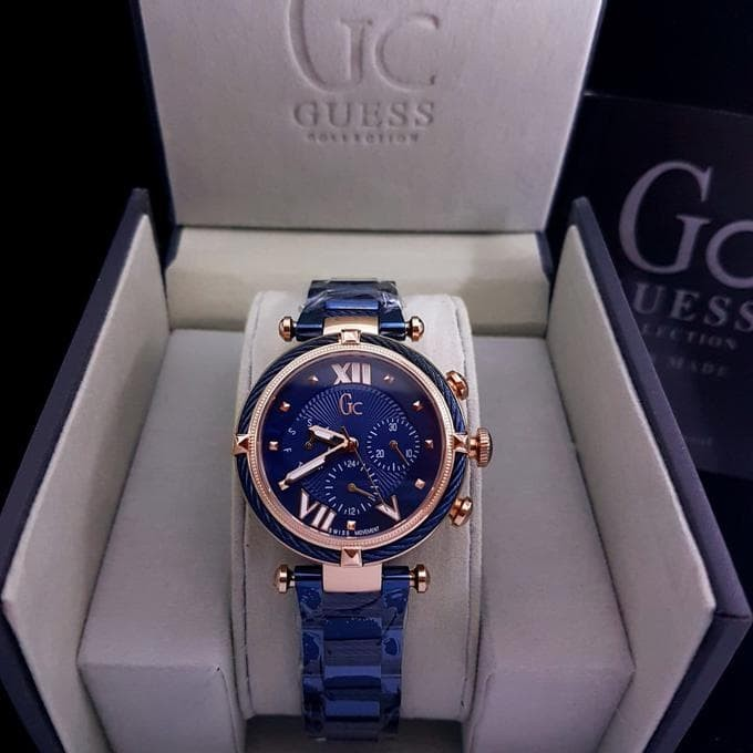 Stainless Source · Jam Tangan Wanita Merk Guess Collection Gc Y16005L7 .