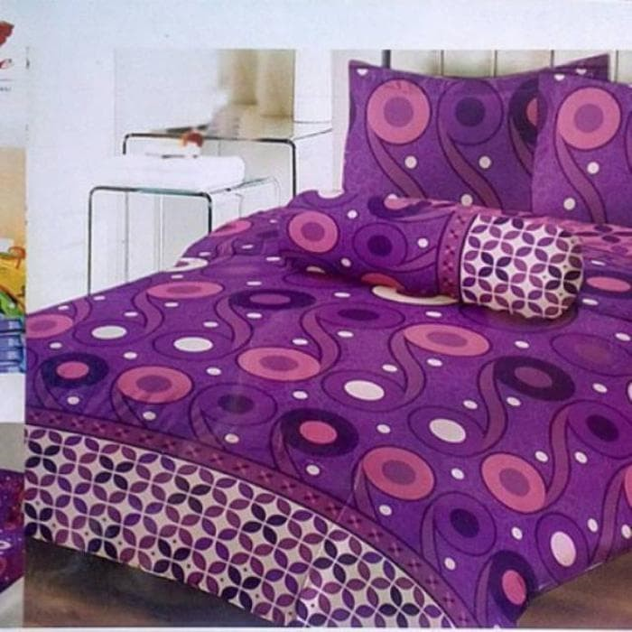 Sprei lady rose lembayung queen&king/no.1&2/160x200&180 Murah