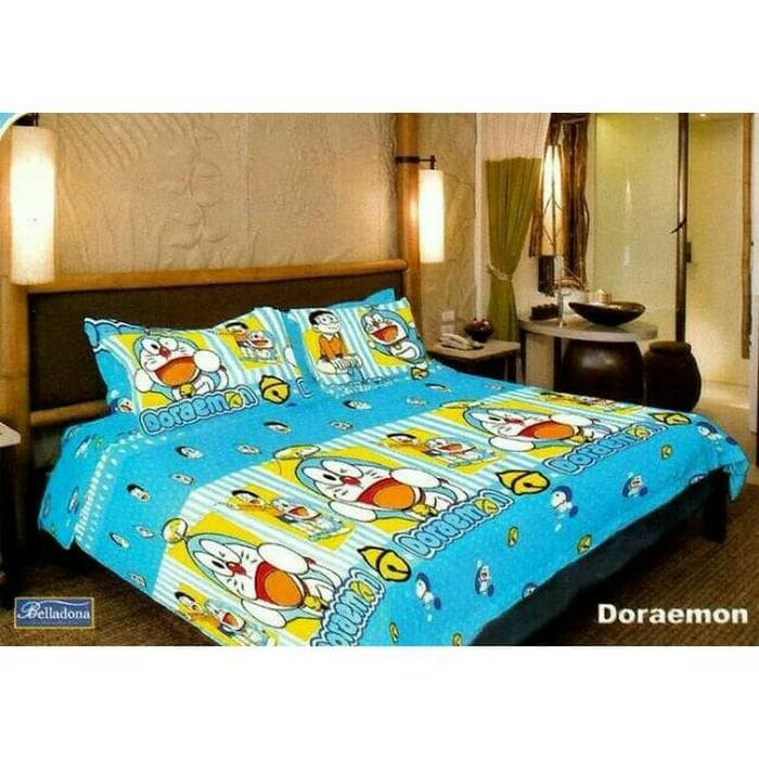 Sprei Single Belladona Doraemon 120x200 cm Diskon