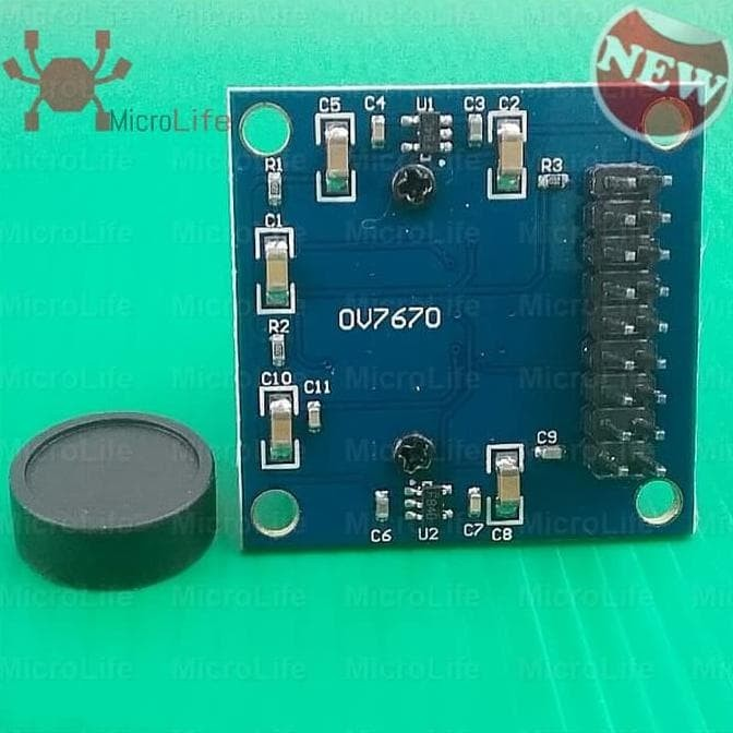 Jual Berkualitas Camera Module Ov7670 Arduino Maple Chipkit Stm32 Arm Dsp -  fannyyovita43 | Tokopedia