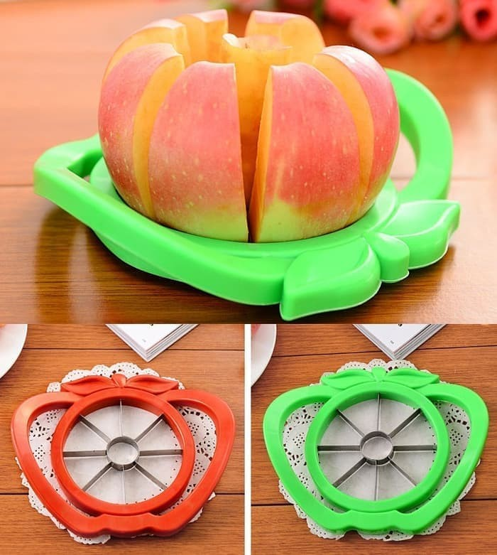 Pisau Alat Pemotong Apel Apple Slicer Cutter Peeler Buah Dapur Mudah
