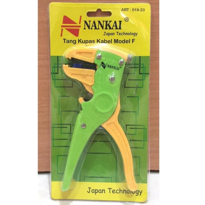 Promo Terbaru Tang Kupas Kabel Model F Nankai Tang Potong Gunting
