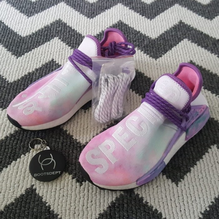 sale retailer dd904 40c9b Jual Adidas NMD HU Human Race Holi Festival - Pink - Boots Dept | Tokopedia