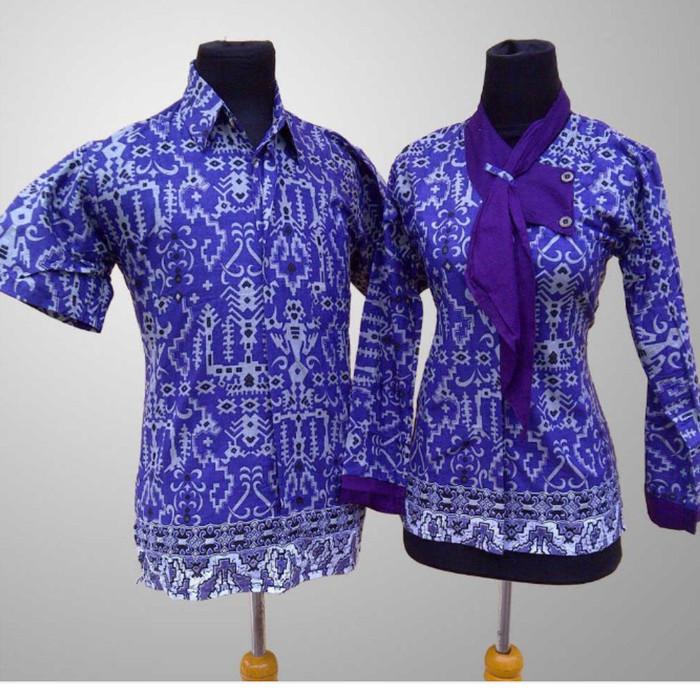 Jual Baju batik kerja/kantor - naviolshopp | Tokopedia