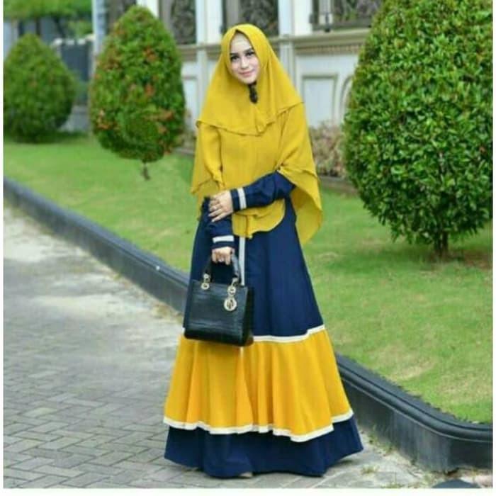 Jual Baju Busana Muslim Wanita Gamis Syari Pesta Kanaya Balotely ... c8b8ee6731