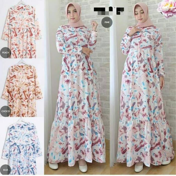 Jual Baju Busana Muslim Wanita Gamis Syari Pesta Dinara Terbaru ... 515024e684