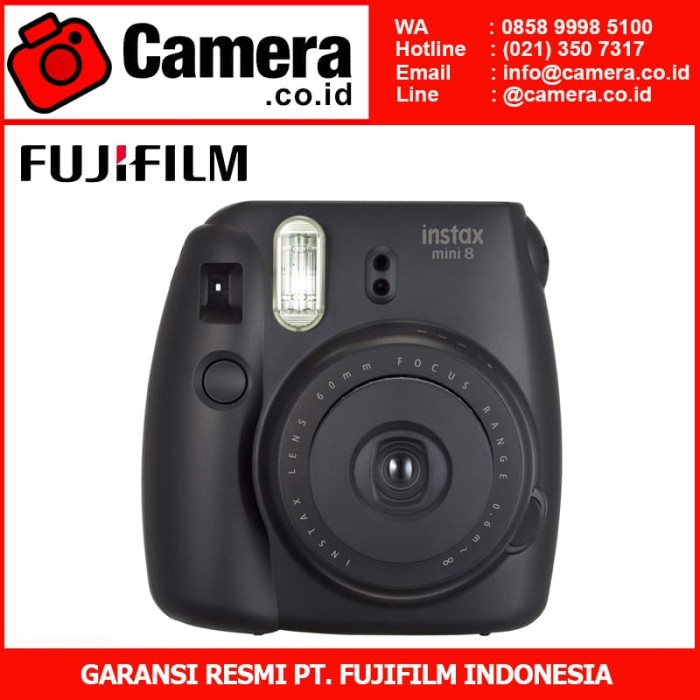 harga Fujifilm instax mini 8 (black) - kamera instan Tokopedia.com