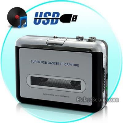 Foto Produk KONVERTER KASET PITA KE MP3 - TAPE TO MP3 CONVERTER - ITAPE USB-1000 dari EtalaseBelanja