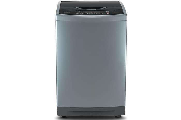 harga Mesin cuci top loading sharp es-f1208x-sl 12 kg quick wash inverter Tokopedia.com