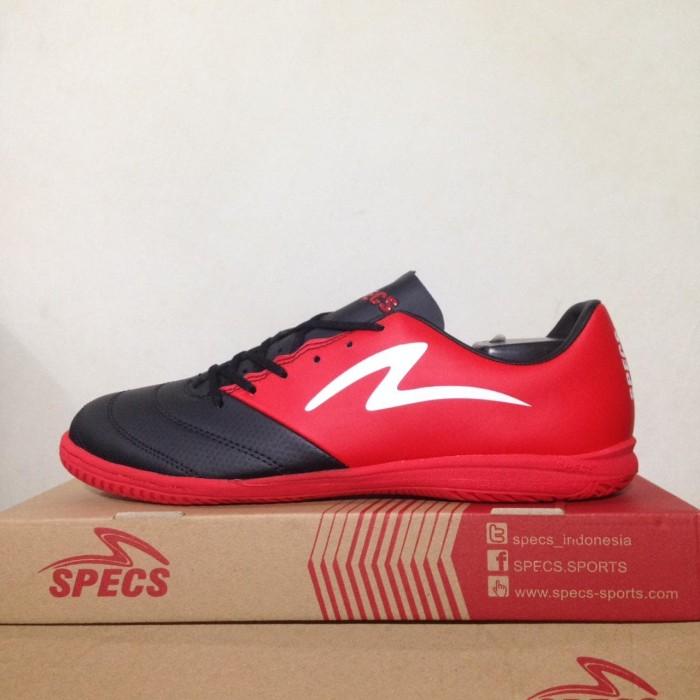 Sepatu Futsal Specs Storm 19 IN Black Emperor Red 400841 Original BNIB 35ad93a7abfcb