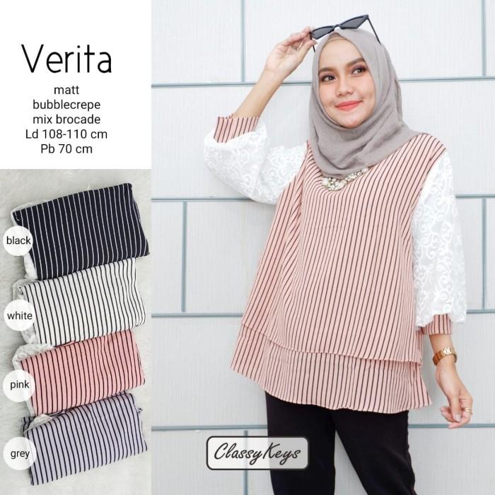 Jual Baju Wanita Blouse Tunik Verita Muslim Modern Modis Lucu Unik Kota Surakarta Vamaya Shop Tokopedia