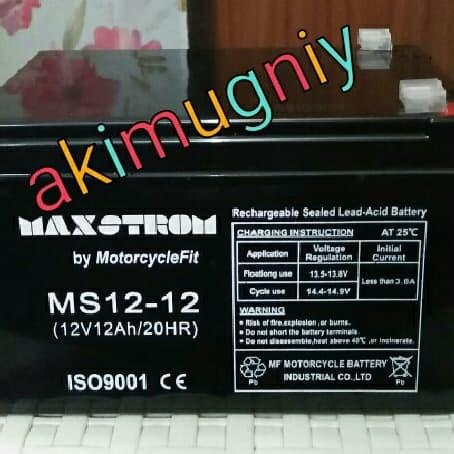 harga Aki baterai kering vrla mf 12ah 12v sepeda listrik mainan ups gs yuasa Tokopedia.com