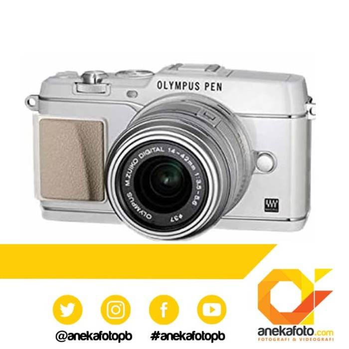 harga Olympus e-p5 kit 14-42mm 2r - black Tokopedia.com
