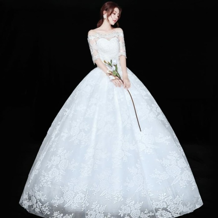 harga Md h72 gaun baju pengantin wedding dress Tokopedia.com