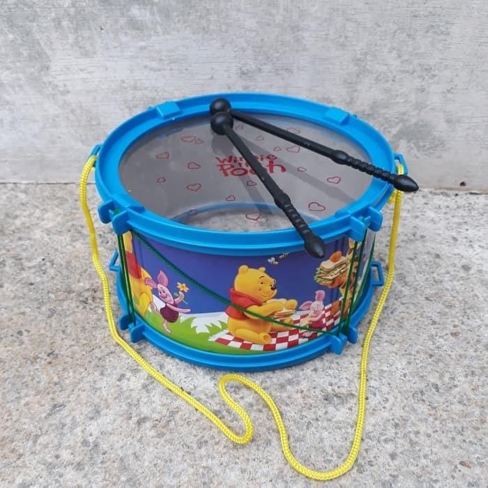 harga Mainan drum band anak edukasi - mini gendang edukatif alat musik Tokopedia.com