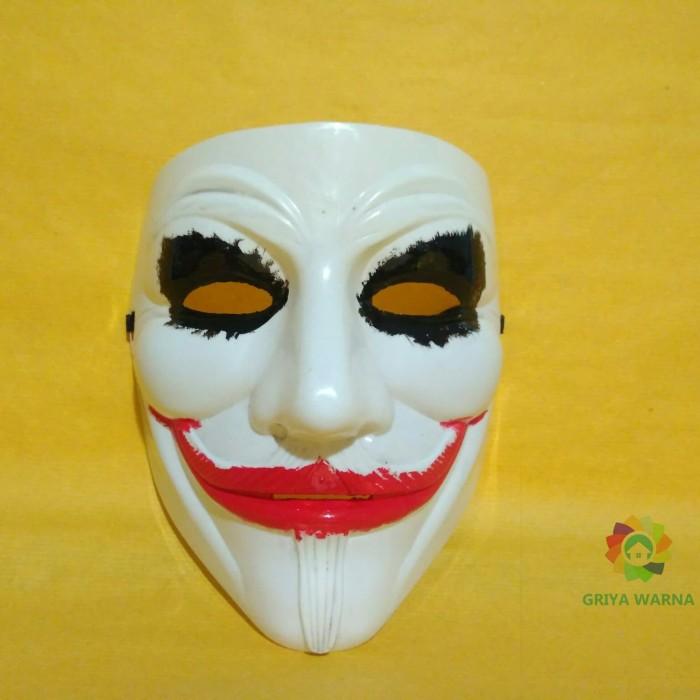 ... Plastik Tahan Lama Topeng Halloween pesta kostum Cosplay Topeng. Ormano Topeng Vendetta Mask Occupy Anonymous Cosplay Putih Daftar Source · Topeng ...
