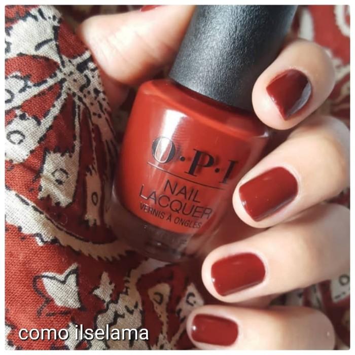 harga Kutek opi nail polish red Tokopedia.com