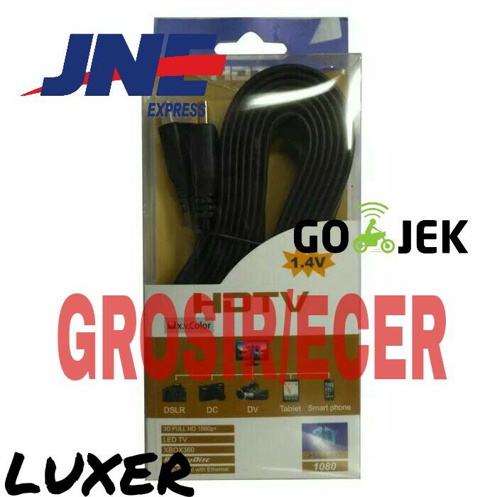 harga Kabel hdmi flat 3m panjang 3 meter murah bagus to versi 1.4 ke lcd tv Tokopedia.com