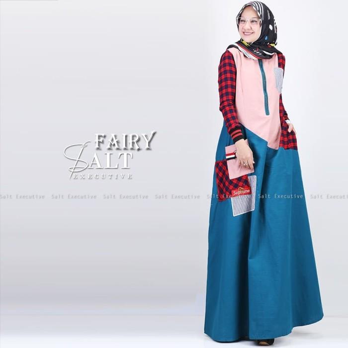 fairy dress salt executive gamis busui casual kodern kekinian branded