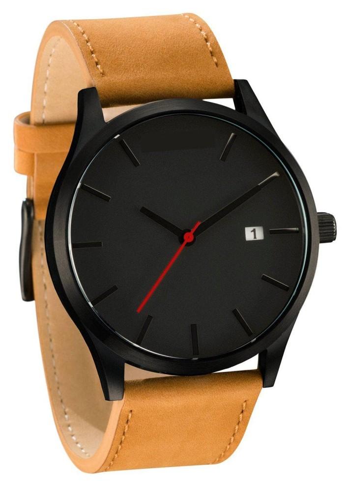Jam Tangan Pria Casual Mv Kulit Active Date Analog Watch - Daftar ... 3018c31c80