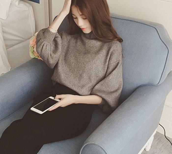 Jual Best hoodie besar big size sweater wanita import korea style k ... 6aa4724669