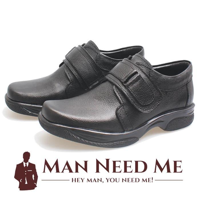 harga Sepatu pantofel strap pria kulit asli (sepatu formal/pdh/kantor) bsm Tokopedia.com