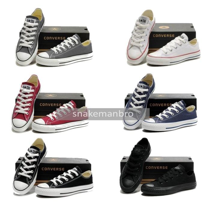 Jual Sepatu Converse All Star Sneaker Original Made In Indonesia ... c2ef4dee2b