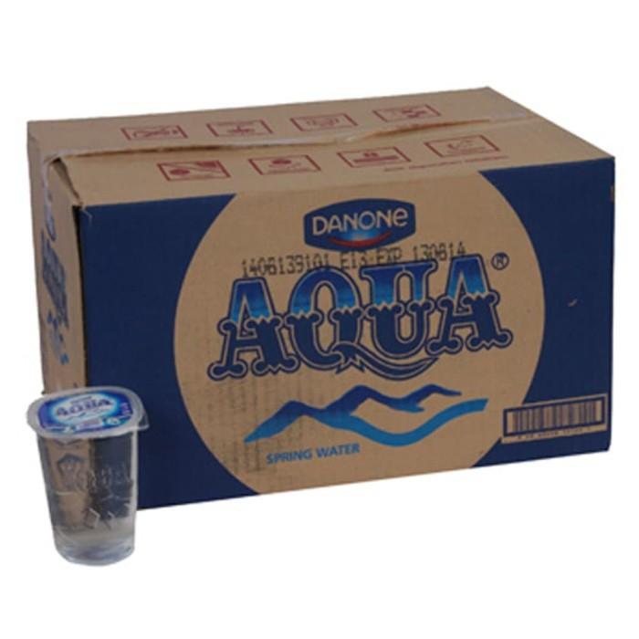 harga Aqua gelas 220 ml isi 48 pcs Tokopedia.com