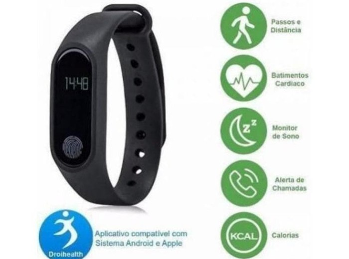 Jual Smart Watch M2 Intellingence Health Bracelet Mi Band 2 Xiaomi - DKI  Jakarta - muktikitaonline | Tokopedia
