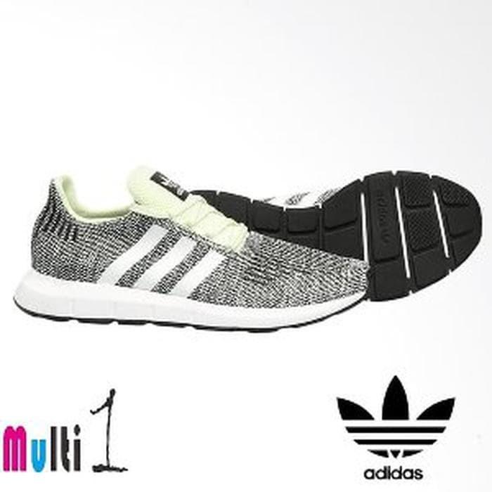 9a6621998 Jual Sepatu Adidas Original Men Original Swift Run Shoes CQ2 Limited ...