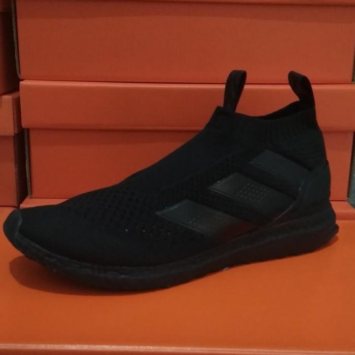 super popular afe85 8755c Jual Sepatu Adidas Ace 16 Pure Control Ultra Boost Black - Kab. Cianjur -  Axlabel | Tokopedia