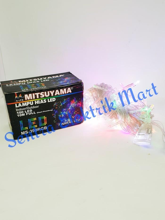 Lampu hias natal / tumblr warna-warni LED Mitsuyama MS-399 RGB
