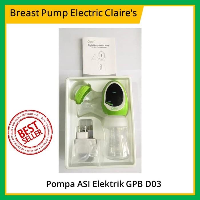 Claire's / Claires GPB D03 Breast Pump Electric / Pompa Asi Elektrik