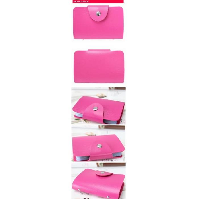 Dompet Kartu 24 Pc - Soft Pink Diskon