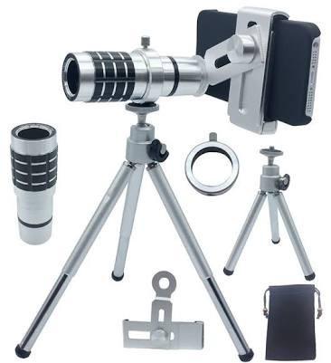 harga Lensa telezoom teleskop tele zoom kamera hp telescope mobile phone 12x Tokopedia.com