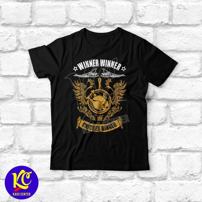 Jual Baju Kaos Gambar Pubg Chicken Dinner Hitam Xl Dki Jakarta - baju kaos gambar pubg chicken dinner hitam xl
