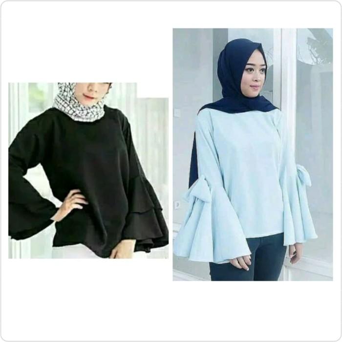 Jual Baju Lengan Lonceng Blouse Atasan Panjang Baju Santai Bajumurah Kab Kuningan Susan Onlineshop Tokopedia