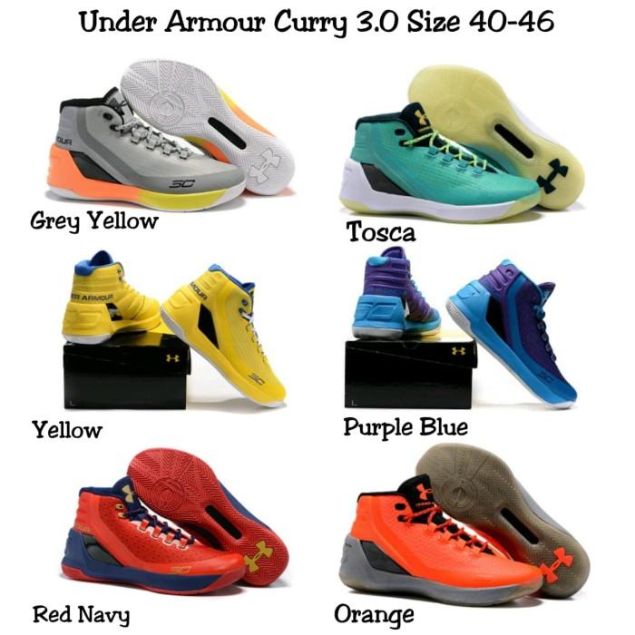 Jual Sepatu Basket 2019 Terbaru UNDER ARMOUR Curry 3.0 Termurah ... 4213ec6d2e