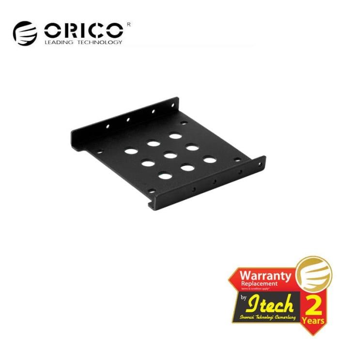 Foto Produk ORICO AC325-1S Aluminum 3.5in to 2.5in SSD HDD Bracket - Hitam dari ORICO INDONESIA