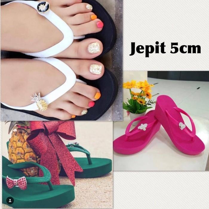 harga sandal popits KW 5CM by joline Tokopedia.com 62a69d0a63
