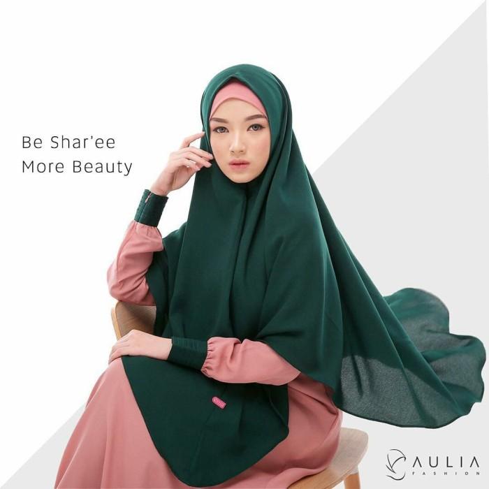 Jual Melanie Set Gamis Dan Hijab Syari Aulia Fashion Damay