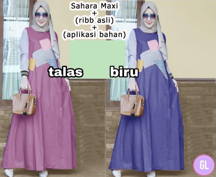 Atasan Wanita Muslim - Maxi Dress Sahara Maxi - Dzikri Moeslim ... 3acf96af46