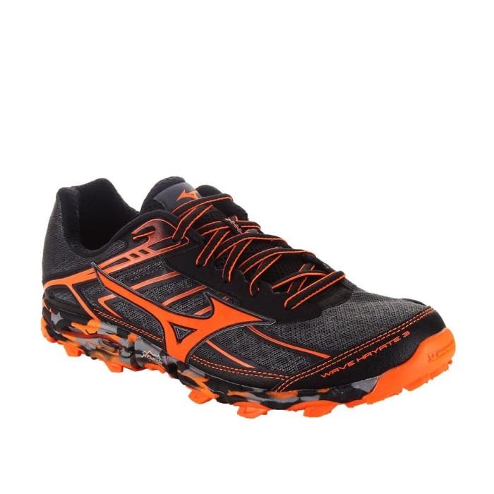 Jual Sepatu Lari Pria Mizuno Wave Hayate 3 - Dark Shadow V Orange ... 531c9f7ccd