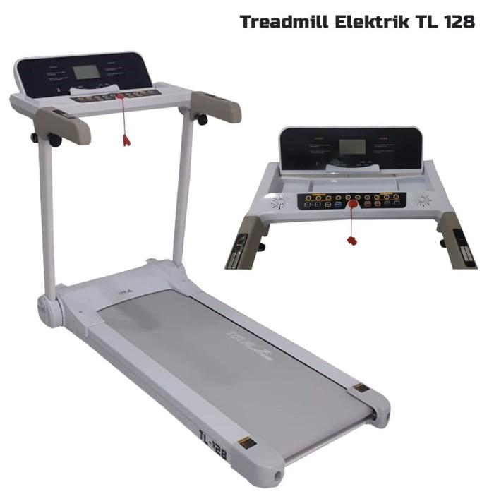harga Pioner fitnes center treadmill elektrik - putih [tl 128] Tokopedia.com