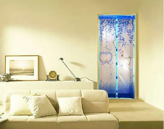 harga Tirai kelambu magnetic pintu anti nyamuk dengan magnet lock Tokopedia.com