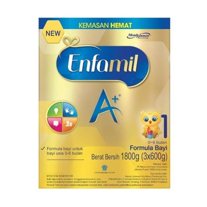 harga Enfamil a+1 1800gram Tokopedia.com