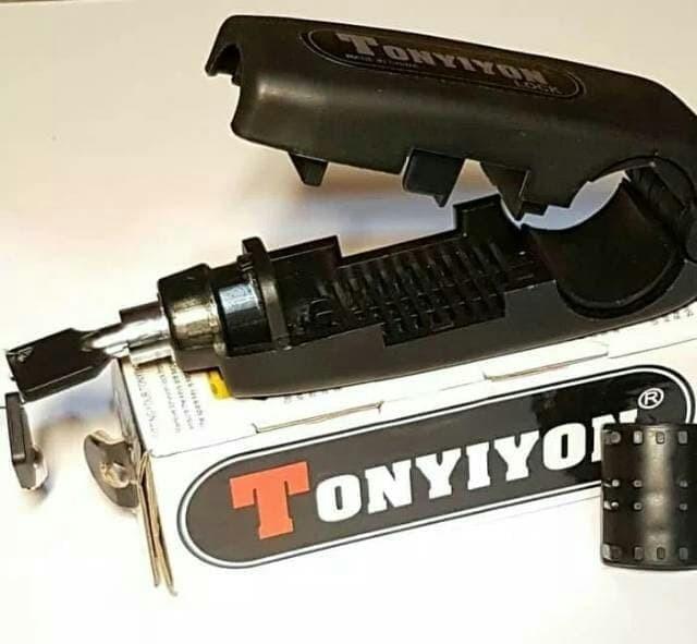 Griplock Kunci Stir Stang Sepeda Motor TONYIYON Grip Lock Bahan Besi