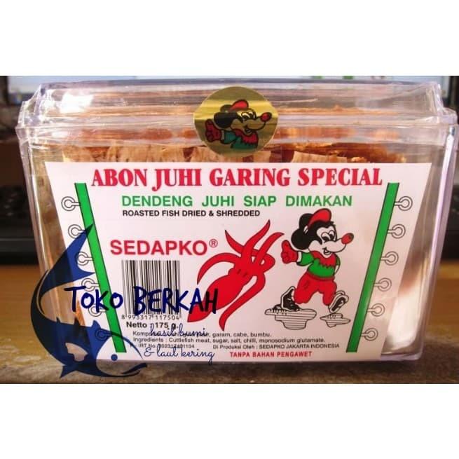 harga Abon juhi garing 175 gram / snack cumi garing sedapko Tokopedia.com