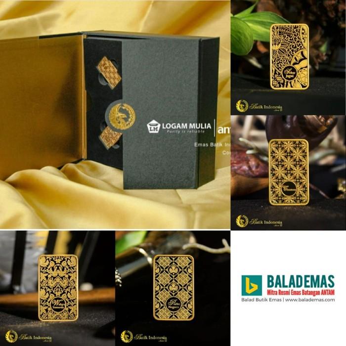Jual Emas Batangan Batik Seri Ii Complete Edition 4 At 20gram